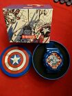 Casio G Shock Captain America Marvel Watch Blue red And White
