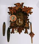 NIB Schneider Cuckoo Clock 1 Day Black Forest - Authentic German Model w/ papers
