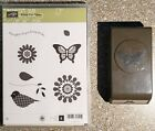 Stampin Up Polka Dot Pieces  Butterfly Punch FREE SHIPPING