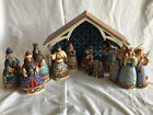Jim Shore Blessed Birth 10 Pc Nativity Set Complete 4017645