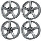 4 ATS Wheels Auvora 80Jx19 ET45 5x112 GRA for AUDI A3 A4 A6 A8 Q2 Q3 RS3 S3 SQ2