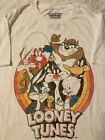 LOONEY TUNES Bugs Bunny TAZ Wile E Coyote ROAD RUNNER Daffy Duck MENS T Shirt