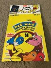 1980 FLEER PAC-MAN STICKERS & RUB-OFFS EMPTY DISPLAY WAX PACK BOX YELLOW VERSION