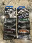 NEW HOT WHEELS 2013 FAST  FURIOUS COMPLETE SET OF 8 VHTF