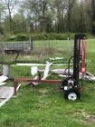 Used 20 ton gas operated log splitter in good condition must sell