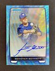 2012 Bowman Baseball Blue Wave Refractor Autographs Are Red-Hot 56