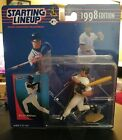 1998 Edition Starting Lineup MLB Bernie Williams Action Figurine With Card