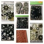 Lot Of 40 Hero Arts  Misc Clings Floral Stamps Scrapbooking Flowers Flower