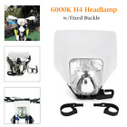 Cross-country Motorcycle Headlamp Cover Fairing Light Headlight w/Fixed Buckle