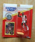 Starting Lineup NBA 1991 Dominique Wilkins & Spud Webb collector cards figure