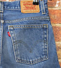 VTG Levis 550 29 Short 9 Husky Relaxed Mom Jeans High Waisted Denim Petite