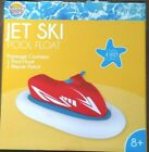Jet Ski Pool Float Fun With Repair Patch Ages 8 and Up Sunny Daze New