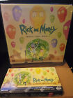 RICK AND MORTY SEASON 2 CRYPTOZOIC SEALED BOX AND BINDER WITH EXCLUSIVE B1 CARD