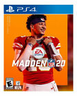 Madden NFL 20 - ps4 PlayStation 4 * New Sealed Game *