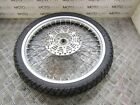 Suzuki DR 250 98 front wheel rim with rotor & great tyre