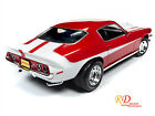 1971 CHEVROLET CAMARO BALDWIN MOTION MCACN RED 1 18 DIECAST BY AUTOWORLD AMM1197