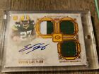 Eddie Lacy 2013 Topps Museum Auto Autograph Jersey Rookie RC #32 50 Packers