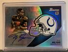 2012 Bowman Football Chrome Refractor Rookie Autographs Guide 63