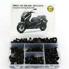 Complete Fairing Body Fastener Bolts Kit For Yamaha XMAX 125 250 400 2014-2019