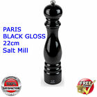 NEW Peugeot  PARIS Pepper Mill Filled Black GLOSS  Made in France
