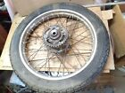 Honda CB125S REAR BACK WHEEL RIM hub CB125 CL125 CB100 CL100 17