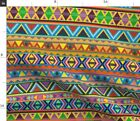 Pattern Aztec Native Indian South America Fabric Printed by Spoonflower BTY