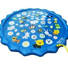 Inflatable Spray Water Cushion Swimming Pool Garden Water Mat for Kids Toddlers