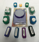 Lot of 12 Paper Punches Shapes Borders Mixed Mcgill Marvy Unbranded Scrapbooking