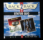 Status Quo - Two Albums - QUO & BLUE FOR YOU - NEW Double Album CD!