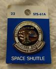 NASA Hat Lapel Pin CHALLENGER SPACE SHUTTLE STS 61A Spacelab