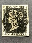 One Penny Black Plate 5