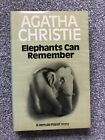 Elephants Can Remember  First UK Edition 1972 Agatha Christie Poirot