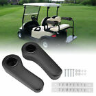 2pcs Golf Cart Rear Seat Arm Rest Set with Cup Holders Universal Car Accessories