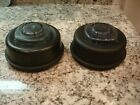 Two Vita Mix 2 piece lids w removable centers from 64 oz containers EUC