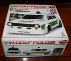 1976 VW GOLF MK1  POLICE R/C CAR TOY VINTAGE POLIZEI DICKIE REAR