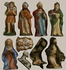 HOMCO Vintage Home Interiors Nativity Set 12 Piece 5216 Excellent