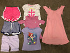 Large Lot Of Girls Clothes Size 6 Spring Summer Outfits 7 Pieces