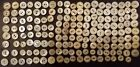 153 Antique Vintage MOP Mother of Pearl Shell Buttons Sewing lot handmade