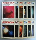 Astronomy Magazine lot January December 1988 All 12 Issues