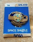 NASA Hat Lapel Pin DISCOVERY SPACE SHUTTLE STS 51 D