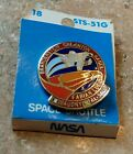 NASA Hat Lapel Pin DISCOVERY SPACE SHUTTLE STS 51 G