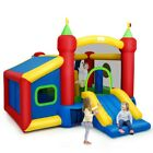 Inflatable Bounce House Castle Jumper Safety Bouncer Moonwalk Bouncy Kids Play