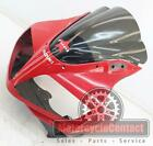 03-06 SUZUKI SV650 FRONT UPPER NOSE HEADLIGHT FAIRING COWL PLASTIC MID SIDE RED