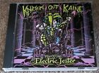 KNOCK OUT KAINE - RISE OF THE ELECTRIC JESTER (HARD ROCK / SLEAZE GLAM CD)
