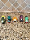 Lot of 5 Diecast Thomas & Friends Trains Terrence Lady Peter Sam Percy Ironworks