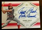 Awesome 2020 Topps Definitive Johnny Bench Definitive Auto 1 1 Cincinnati Reds