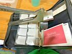 Lot 400+ Scrapbooking Items Rubber Stamps Stickers Dies Quick Kutz And More