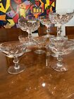 Waterford Crystal Glass Kathleen 8 Champagne Tall Sherbet Goblets 4 1 2 x 375