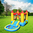 Kids Inflatable Water Bounce House Castle with Balls Pool  Bag