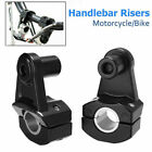 7 8 22mm 28mm Motorcycle HandleBar Riser Handle Fat Bar Mount Clamps Universal